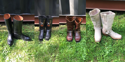 Vintage Leather Boots & Shoes
