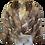 Vintage Bebe Rabbit Fur Party Jacket
