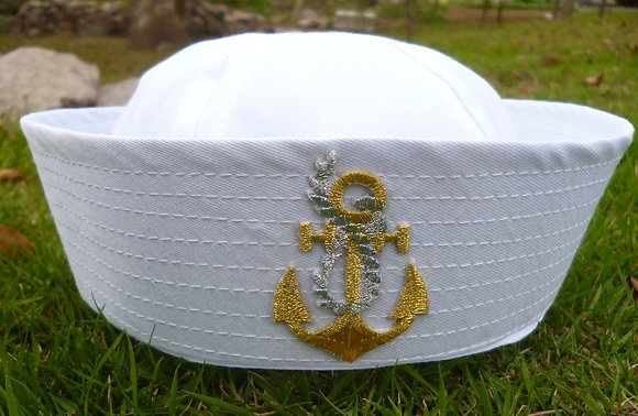 Sailor with Anchor Design Costume Hat