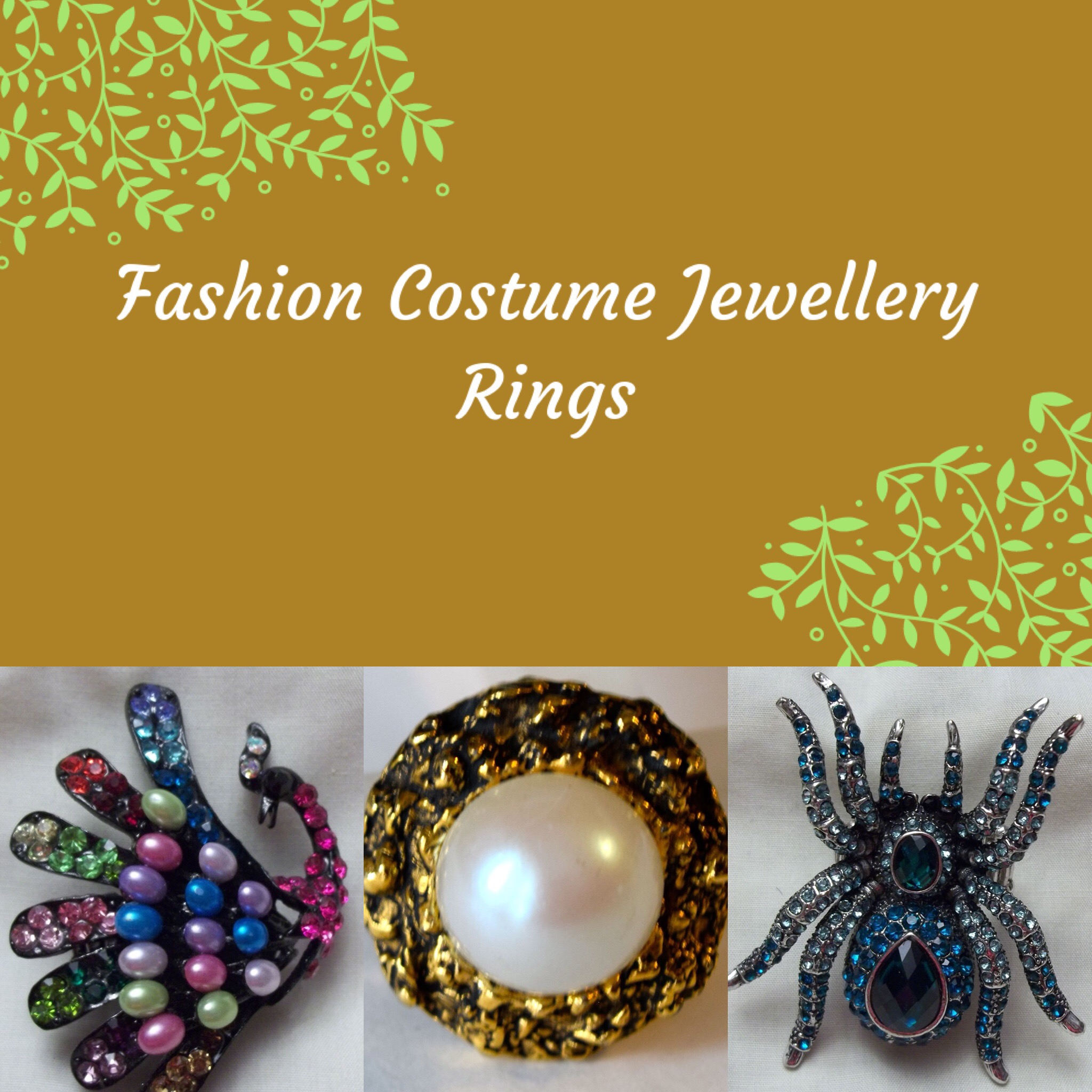 Fashion Costume Rings