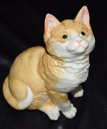 Royal Worcester Kittens Ginger