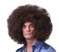 Jumbo Afro Wig Brown