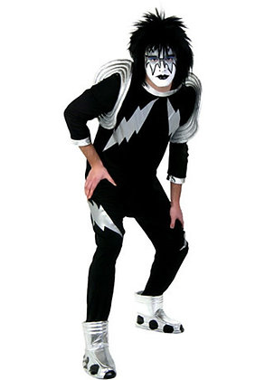 Spaceman Kiss Adult Costume X-Large
