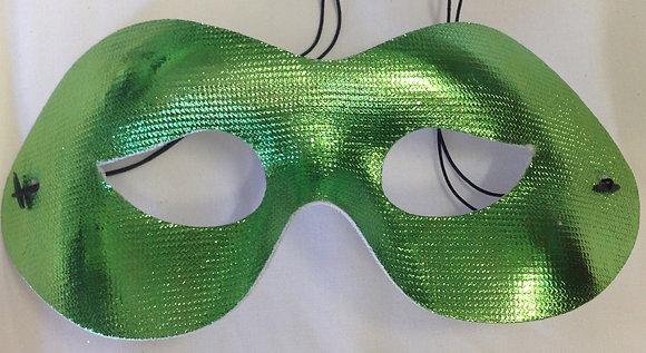Simple Masquerade Mask Green