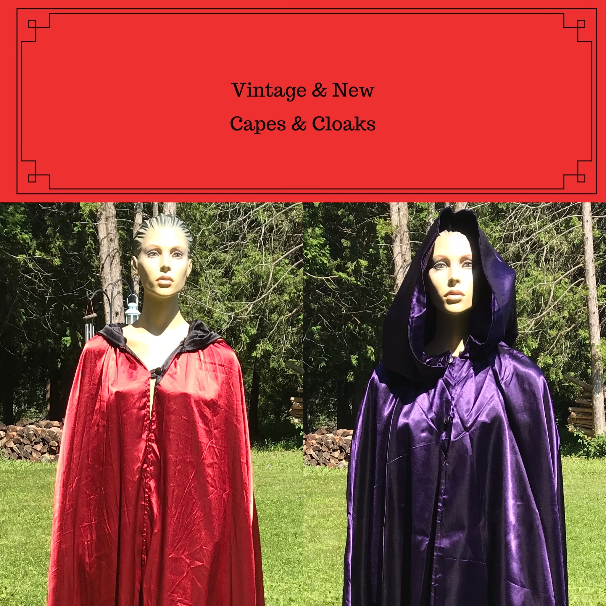 Capes & Cloaks