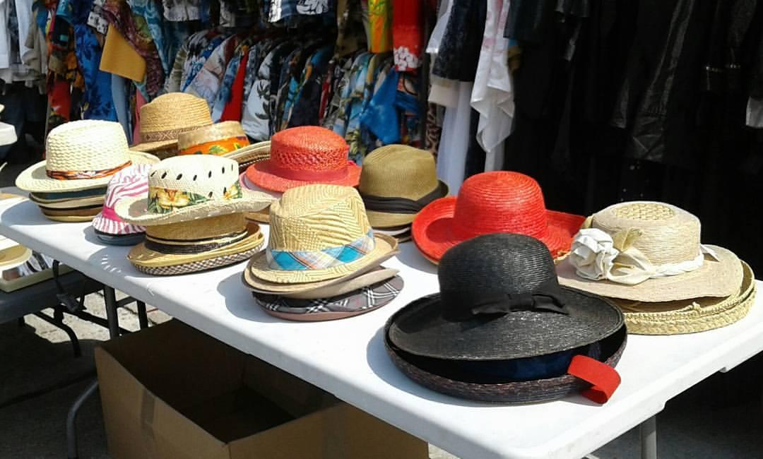 Vintage & New Summer Hats