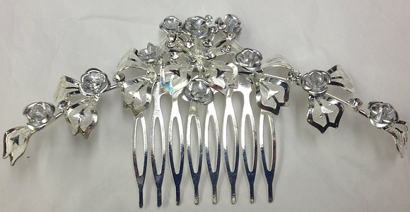 Bridal Hair Comb Floral Design