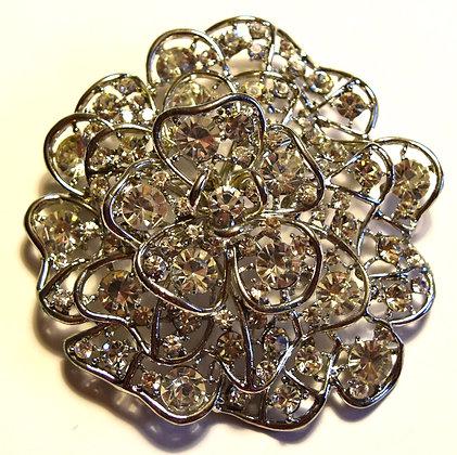 Flower Brooch Pin & Pendant