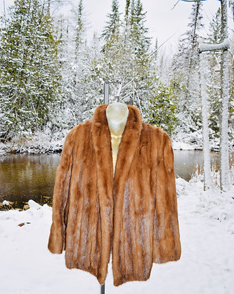 Vintage Fur Salon Eaton's Caramel Mink Jacket