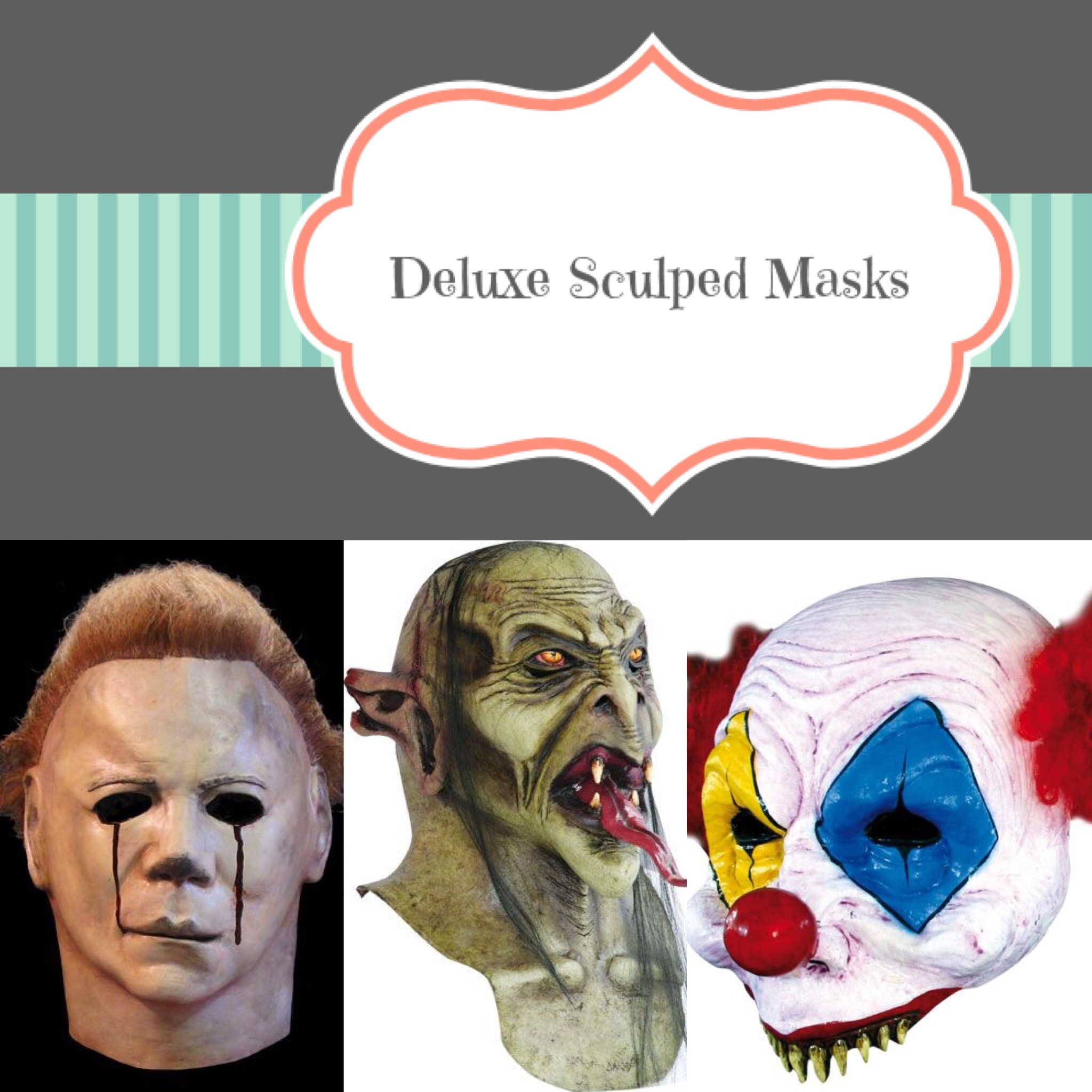 Deluxe Sculpted Masks