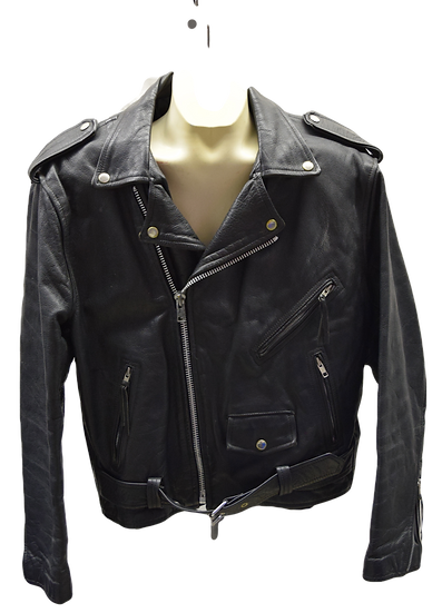 Vintage First Leather Classic Men's Motorcycle Jacket