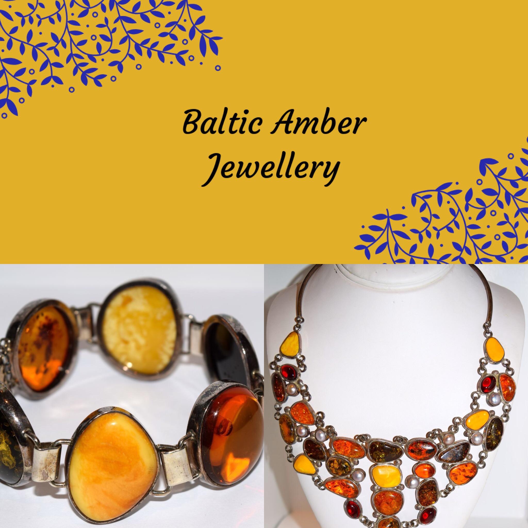 Baltic Amber Jewellery