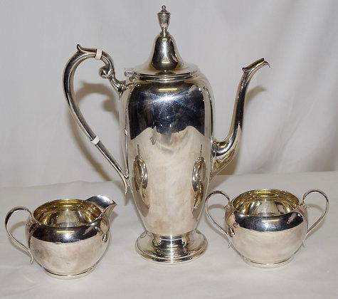 Antique Gorham Sterling Hallmark Tea Set