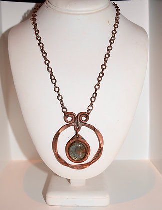 Vintage Rafael Canada Necklace with Round Pedant
