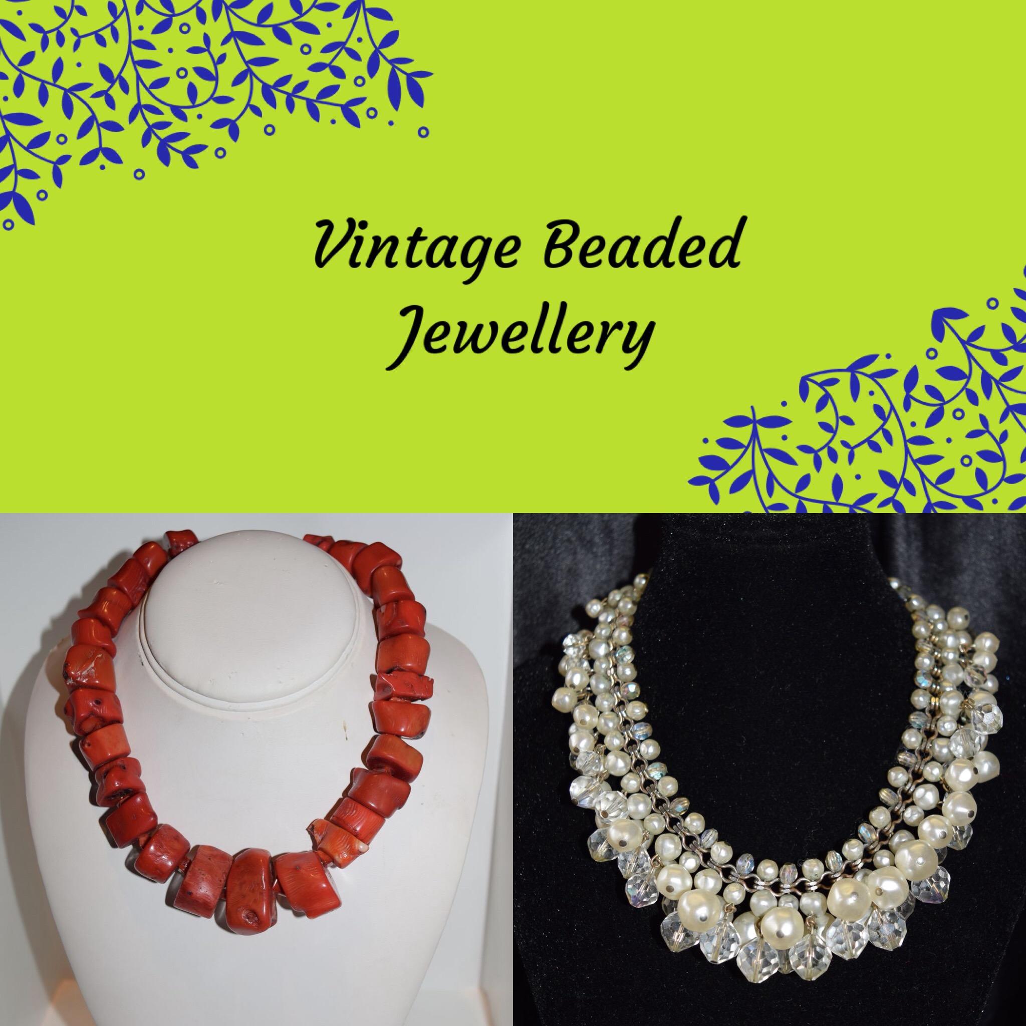 Vintage Beaded Jewellery