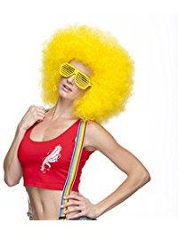 Jumbo Afro Wig Yellow
