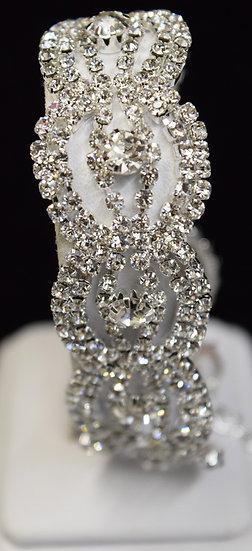 Beautiful Costume Rhinestone Bracelet
