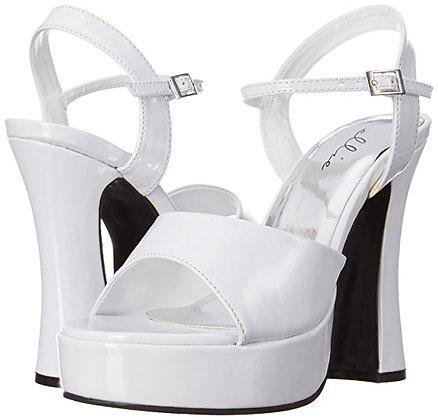White Sandal Platform Shoes Size 16