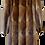 Vintage Muskrat Fur Coat