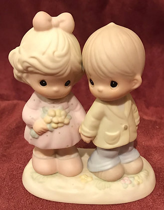 Precious Moments Figurine You're Forever in My Heart