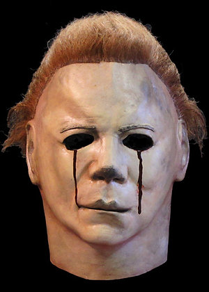 Halloween II Officially Licensed Deluxe Mask Blood