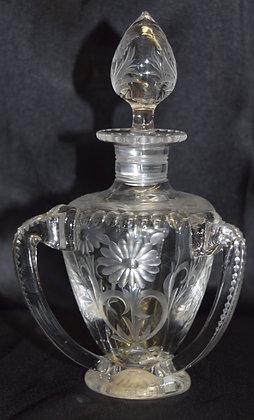 Antique Crysal Perfume Bottle