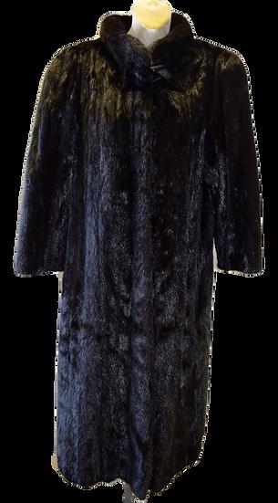 Vintage Paul Magder Furs Dark Brown Mink Coat