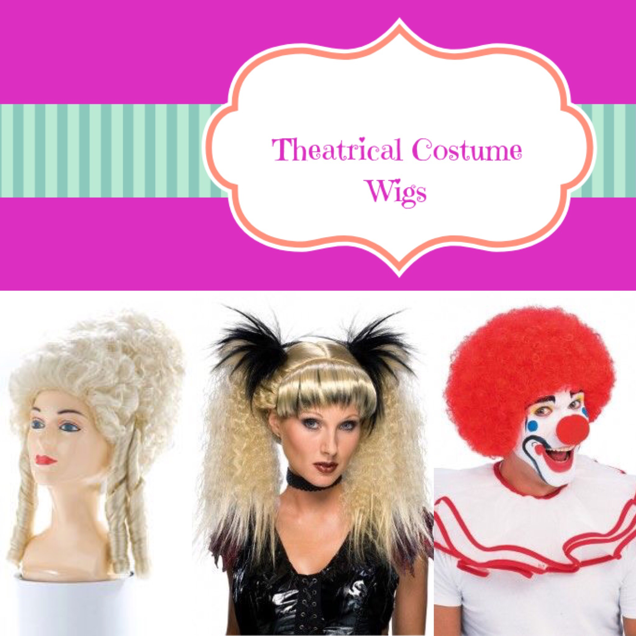 Theatrical Costume Wigs