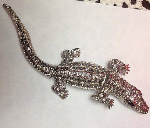 Crocodile Brooch