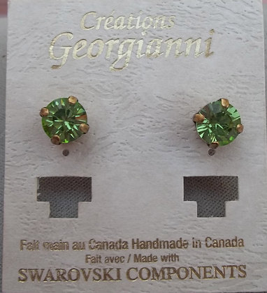 Creations Georgianni Stud Swarovski Earrings