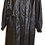 Thumbnail: Women's Vintage Leather Ranch Leather Trench Coat Black Coat