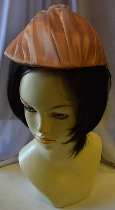 Vintage Blush Pink Fancy Summer Hat
