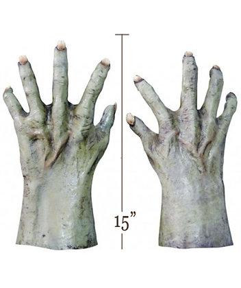 Deluxe Halloween Green Hands