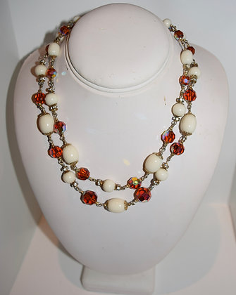 Vintage Vendome Beaded Necklace