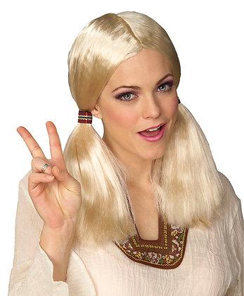 Blonde Hippie Theatrical Wig