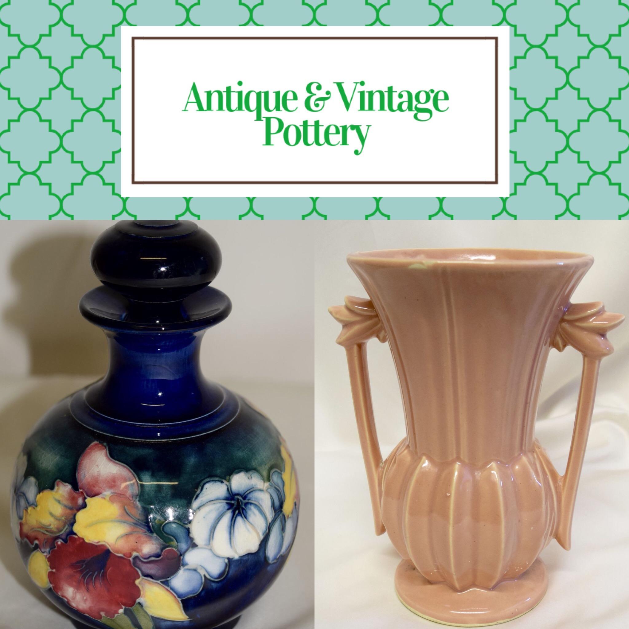Antique & Vintage Pottery