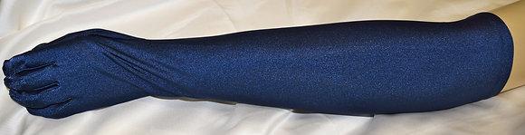 Ladies Evening Opera Gloves Navy Blue