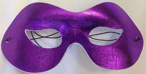 Simple Masquerade Mask Purple