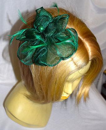 Petit Emerald Green Fancy Fascinator