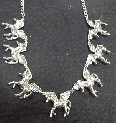 Vintage  Pegasus Necklace