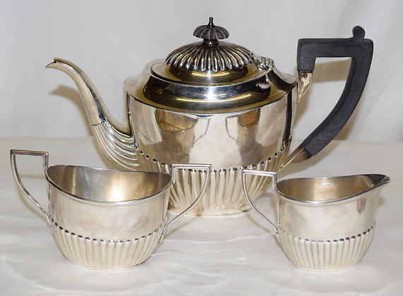 Antique Whiting Manufacturing Company Sterling Tea Set