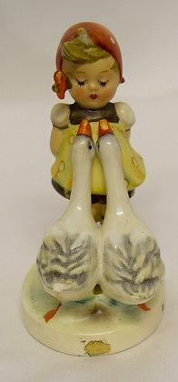Goose Girl Hummel Goebel Figurine W. Germany