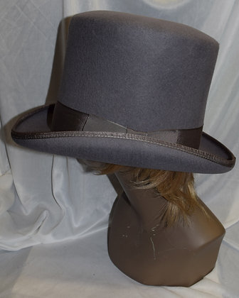 Deluxe High Quality Coachman Top Hat Grey