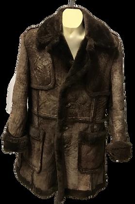 Vintage Leather Attic Men's Sheepskin Leather Jacket