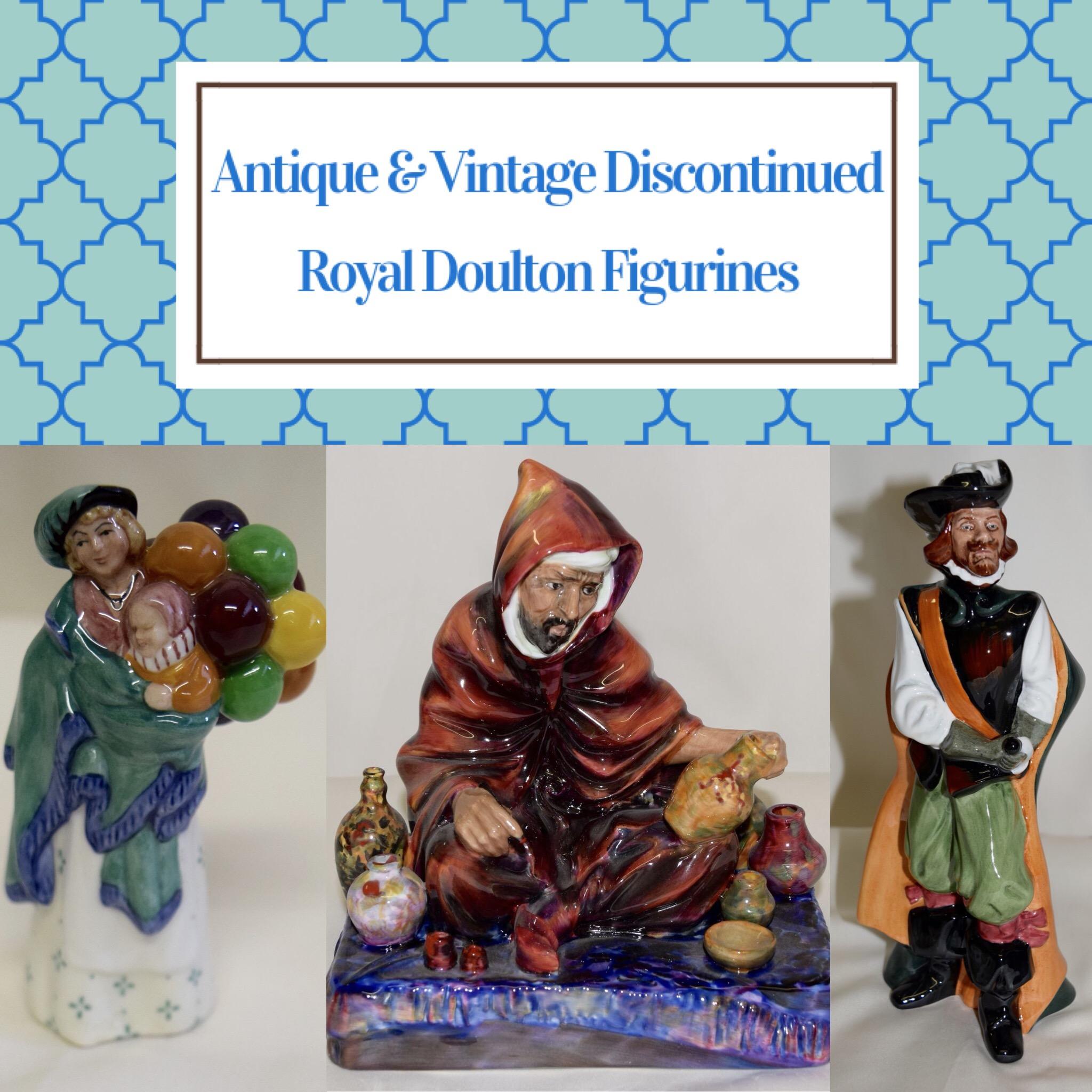 Antique Discontinued Royal Doulton