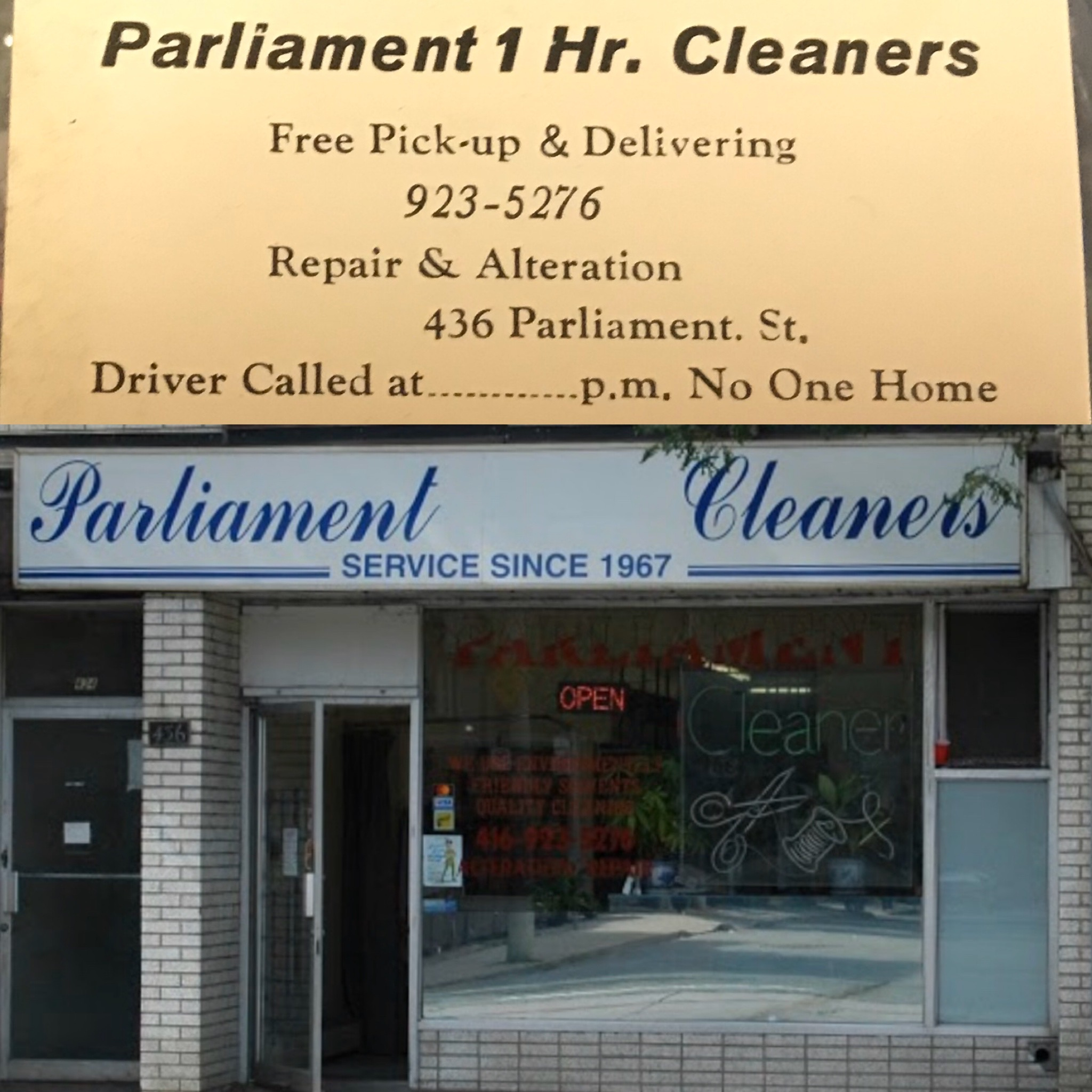 Parliament 1 Hr. Cleaners