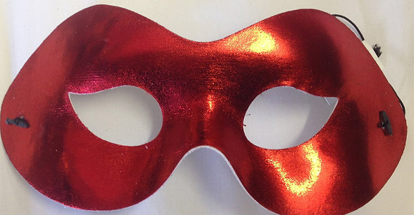 Simple Masquerade Mask Red