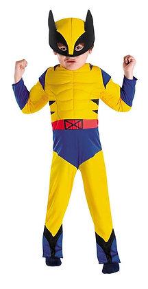License Marvel Spider-Man & Friends Wolverine Children's Costume  3T-4T