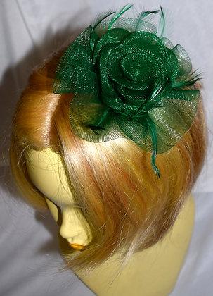 Petit Flower Emerald Green Fancy Fascinator