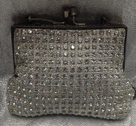 Vintage Crystal Handbag
